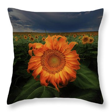 Not Just Another Face In The Crowd  Throw Pillow