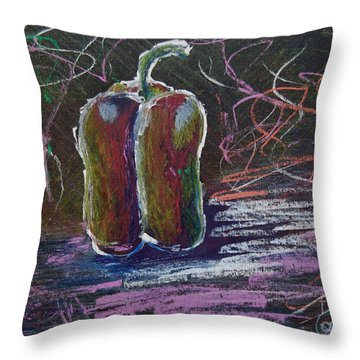 Not Just Any Pepper Throw Pillow