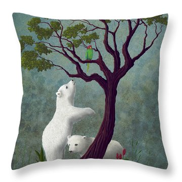 Not Like Home Throw Pillow by Audra Lemke