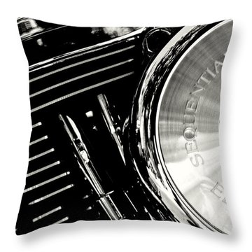 Not My Harley Throw Pillow