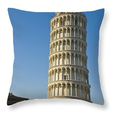 Not Pizza, Pisa Throw Pillow