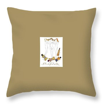 Throw Pillow featuring the digital art Not Shocked by ReInVintaged