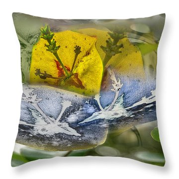 Not Sure But.... Throw Pillow