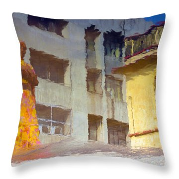 Not Sure Throw Pillow by Prakash Ghai