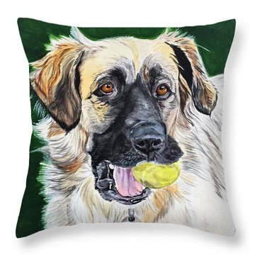 Not Too Old To Play Throw Pillow