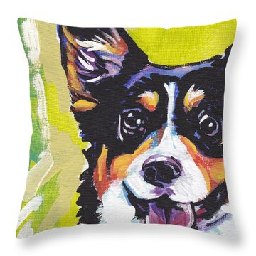 Nothin Like A Corgi Throw Pillow