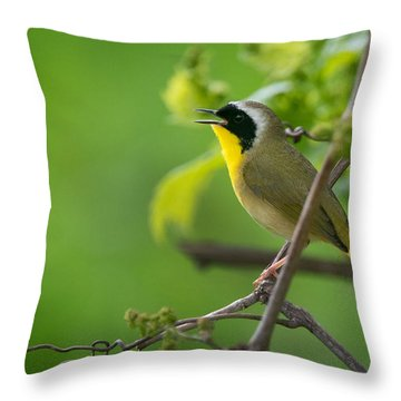 Nothing Common About Me Throw Pillow