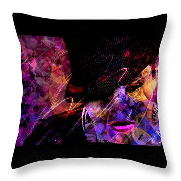 Nothing Compares 2 U Throw Pillow