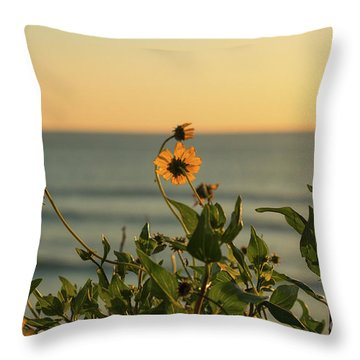 Nothing Gold Can Stay Throw Pillow by Ana V Ramirez