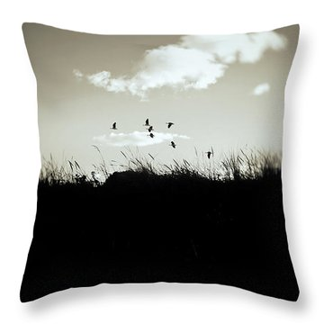 Nothing Lasts Throw Pillow