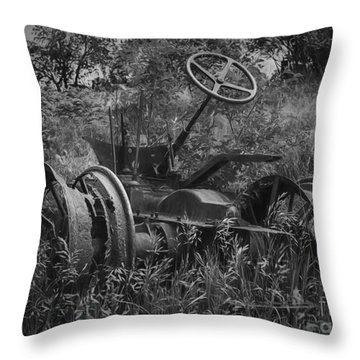 Nothing Left Throw Pillow