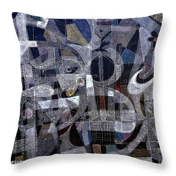 Nothing To Shade Throw Pillow
