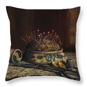Notions Throw Pillow