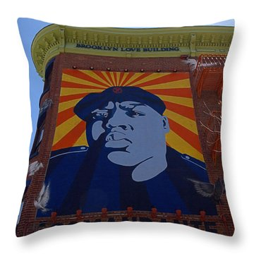 Notorious B.i.g. I I Throw Pillow