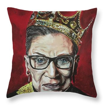 Notorious Rbg Throw Pillow