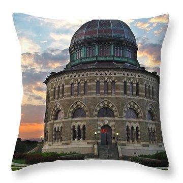 Nott Sunset Throw Pillow