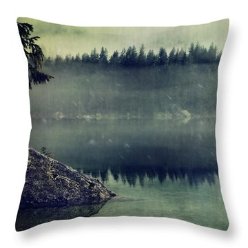 November Afternoon Throw Pillow