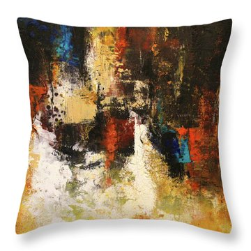 November Evening 1 Throw Pillow