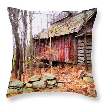 November Stark Throw Pillow