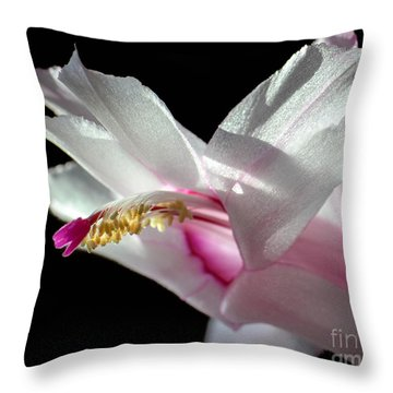 November Splendor Throw Pillow