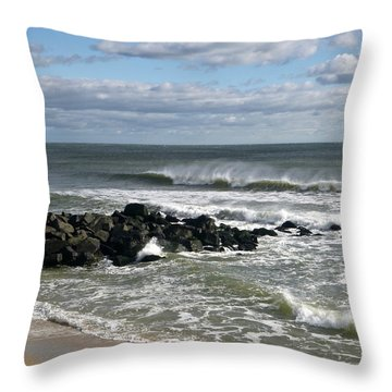 November Wind Throw Pillow