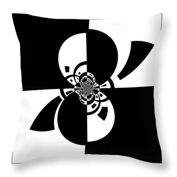 Throw Pillow featuring the digital art Now And Forever by Wendy J St Christopher
