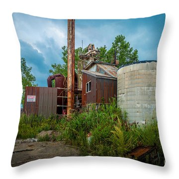 Now Cold Throw Pillow