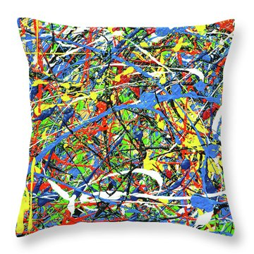 NOW Throw Pillow by Elf Evans