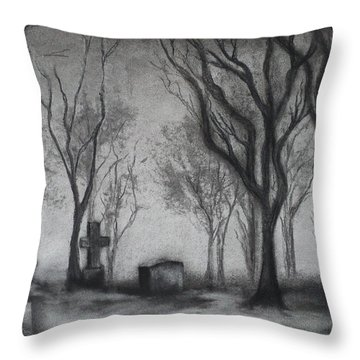 Now I Lay Me Down To Sleep Throw Pillow by Carla Carson
