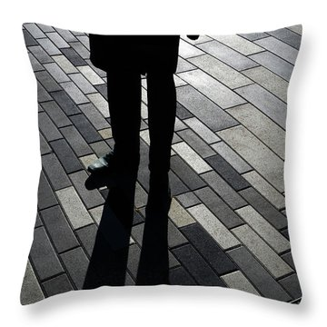 Now I Stand Throw Pillow