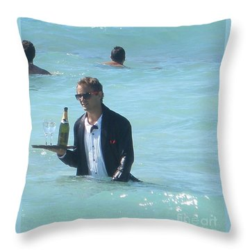 Now That's Service Throw Pillow