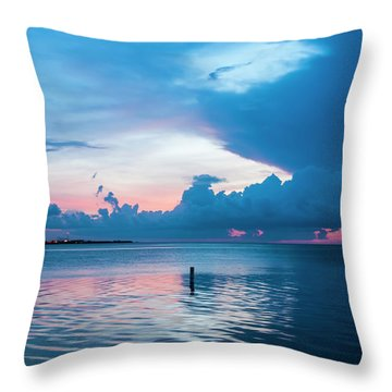 Now The Day Is Over Throw Pillow