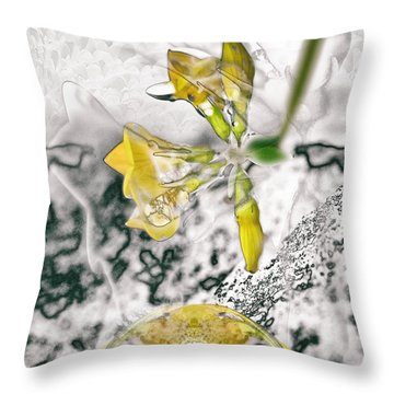 Now Where Were/are We? Throw Pillow