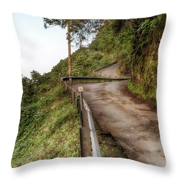 Nowhere But Up Throw Pillow