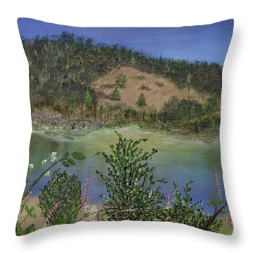 Noyo Serenity Throw Pillow