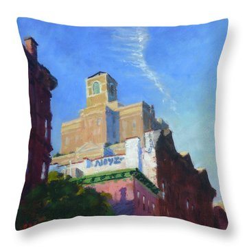 Noyz Throw Pillow
