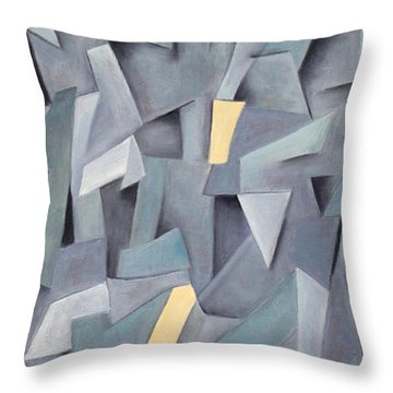 Nuance Throw Pillow by Trish Toro