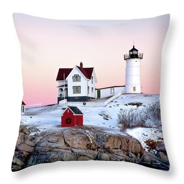 Nubble Glow Throw Pillow