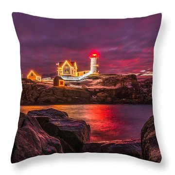 Nubble-rific Throw Pillow
