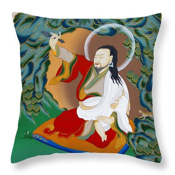 Nubchen Sangye Yeshe Throw Pillow