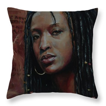 Nubian Dream 2.1 Throw Pillow