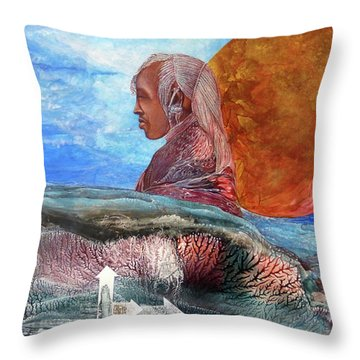 Nubian Dream  Throw Pillow
