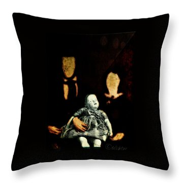 Nuclear Family Throw Pillow