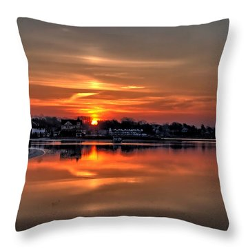 Nuclear Morning Throw Pillow