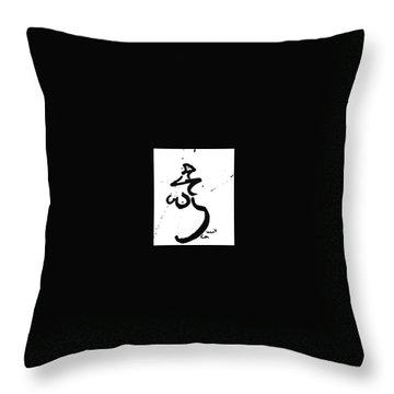 Nude 01 Throw Pillow by M Art Morris Hofmann