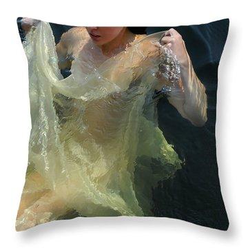 Celestial Motion Throw Pillow