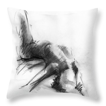Nude 4 Throw Pillow
