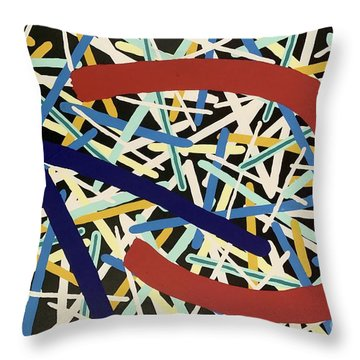 Composition #20 Throw Pillow