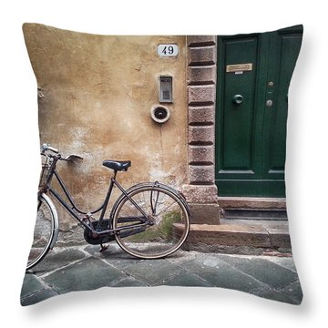 Number 49 Throw Pillow