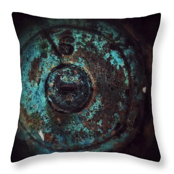 Number 6 Throw Pillow by Olivier Calas